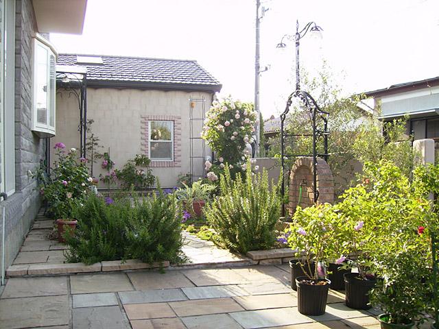 ガーデン施工事例1