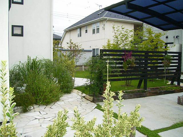 ガーデン施工事例2